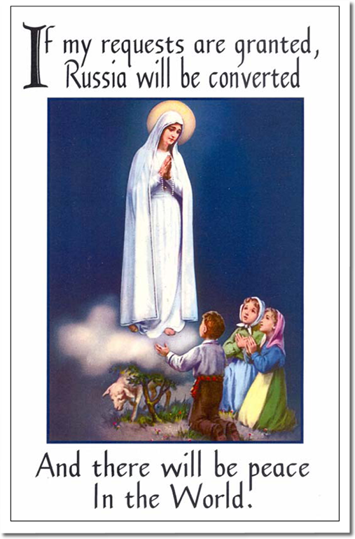 Fatima Message and Devotions to the Immaculate Heart of Mary.