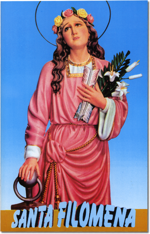 Saint Philomena Virgin and Martyr