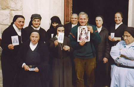 John Kayrouz, Universal Living Rosary Association of Saint Philomena Missionary Center in Lebanon.